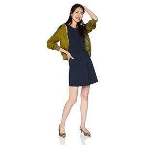 J.Crew Mercantile Sleeveless Knit Dress, Navy Blue